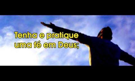 Como Ser Feliz – Vídeo produzido com texto de coautoria do Espírito Anacleto.