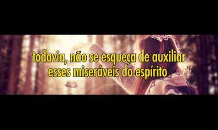 Esperança aos Desesperados (excerto) – Vídeo produzido com texto de coautoria do Espírito EUGÊNIA.