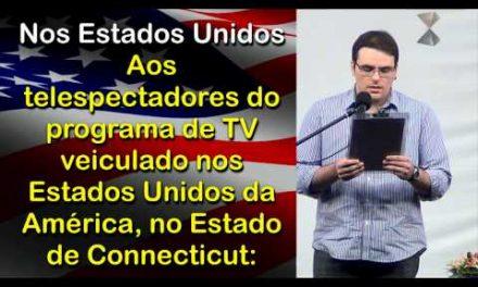 Apresentação do Graduando em Direito Danilo Cruz Monteiro, na Preleção de 14 de Outubro de 2012.