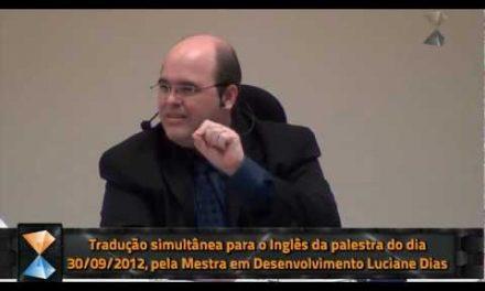 Tradução Simultânea para o Inglês – Breve Edição em Vídeo de Trecho da Preleção do Dia 30 de Setembro de 2012.