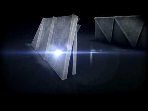Vinheta dos Triângulos Metálicos.