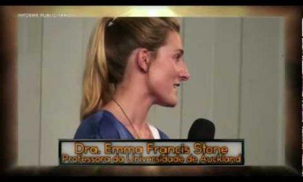 Dra. Emma Francis Stone (Versão em 30 Segundos da Entrevista) – Chamada para a Palestra Domingueira e para o Site do Instituto Salto Quântico.