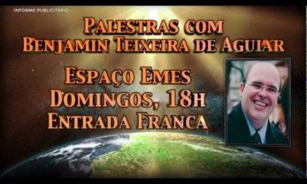 Globo Local – Propaganda das Palestras Domingueiras do Instituto Salto Quântico com Benjamin Teixeira de Aguiar (Full HD).