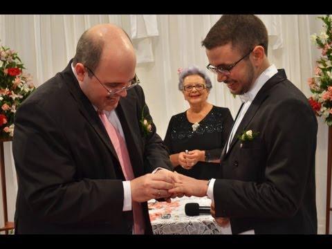 O Casamento Civil de Benjamin e Wagner.