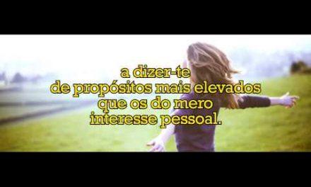 Vazio do coração e transcendência – versão em vídeo.