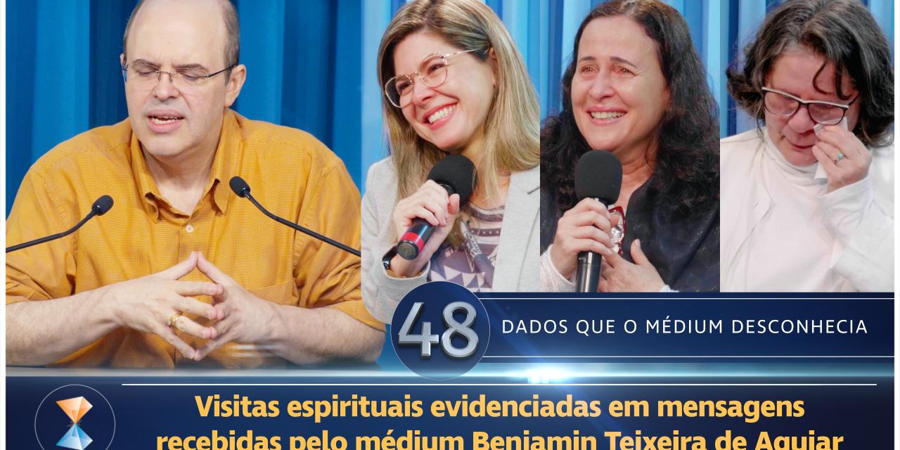 Visitas espirituais evidenciadas em mensagens recebidas pelo médium Benjamin Teixeira de Aguiar
