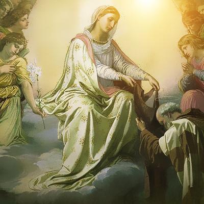Sinal inequívoco da Presença e Comunicações de Nossa Senhora.