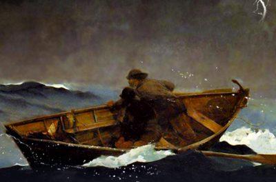 Barco à matroca…