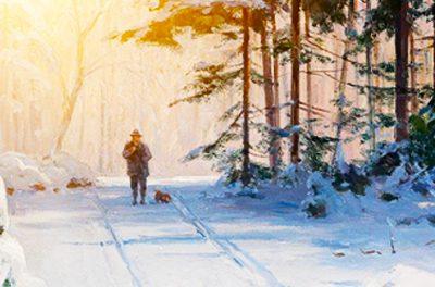Na trilha gelada…