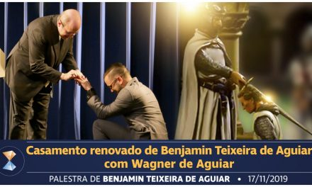 Casamento renovado de Benjamin Teixeira de Aguiar com Wagner de Aguiar