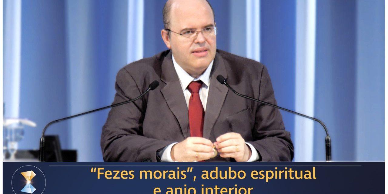 """""""Fezes morais"""", adubo espiritual e anjo interior"""