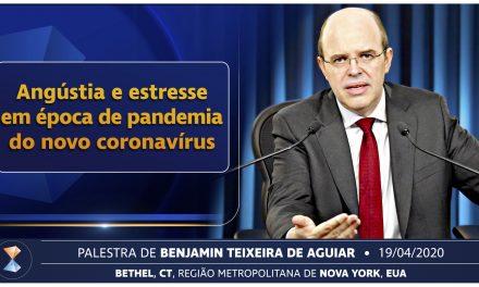 Angústia e estresse em época de pandemia do novo coronavírus