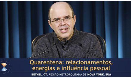 Quarentena: relacionamentos, energias e influência pessoal