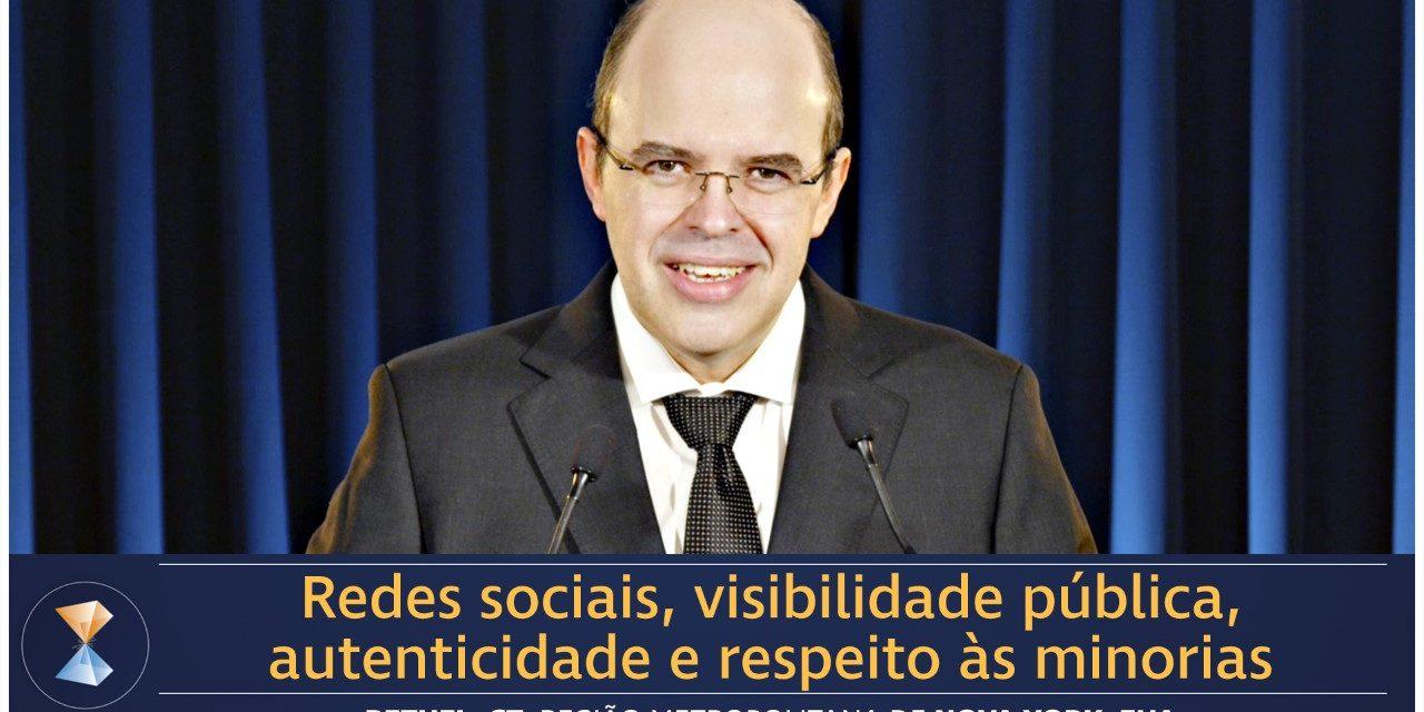 Redes sociais, visibilidade pública, autenticidade e respeito às minorias
