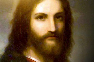 Jesus e religiosos.