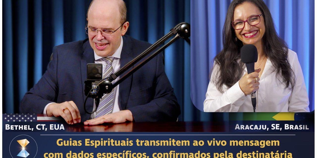 Guias Espirituais transmitem ao vivo mensagem com dados específicos, confirmados pela destinatária