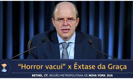 """""""Horror vacui"""" x Êxtase da Graça"""