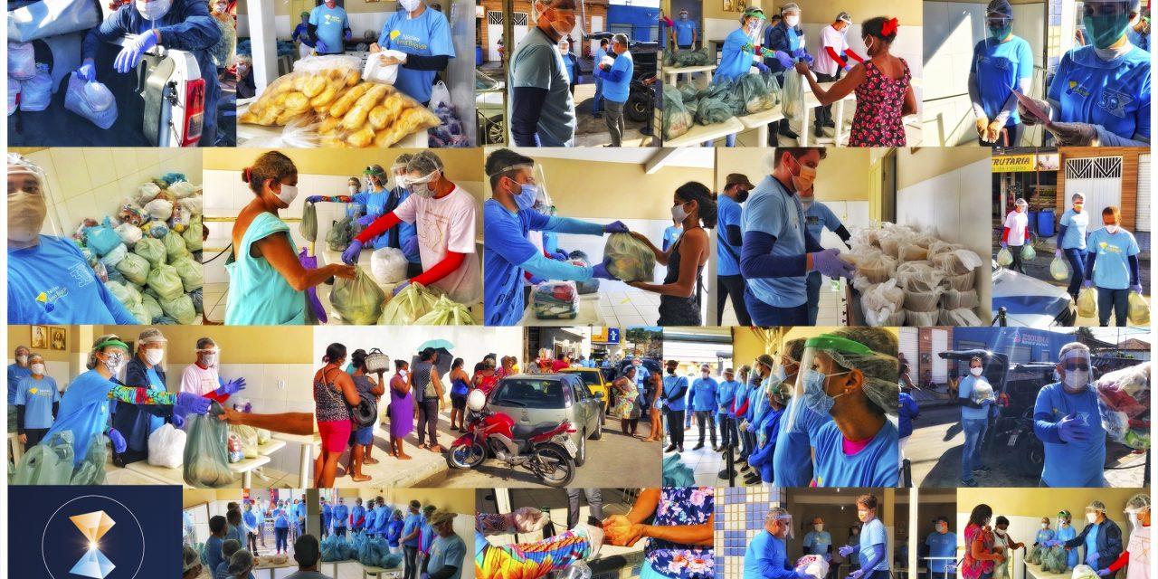 O braço social do ISQ e sua atuação em comunidade carente durante a pandemia da COVID-19