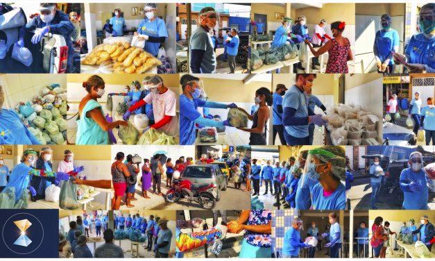 O braço social do ISQ e sua atuação em comunidade carente, durante a pandemia de Covid-19