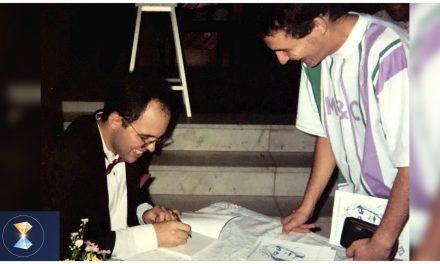 """""""A Princesa do Mediterrâneo"""", primeiro livro psicografado pelo orientador espiritual Benjamin Teixeira de Aguiar, completa 25 anos"""