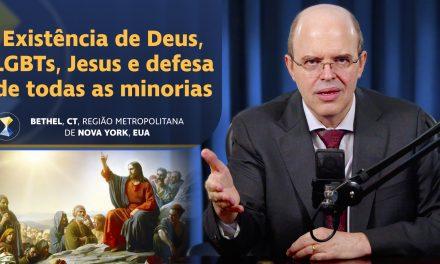 Existência de Deus, LGBTs, Jesus e defesa de todas as minorias