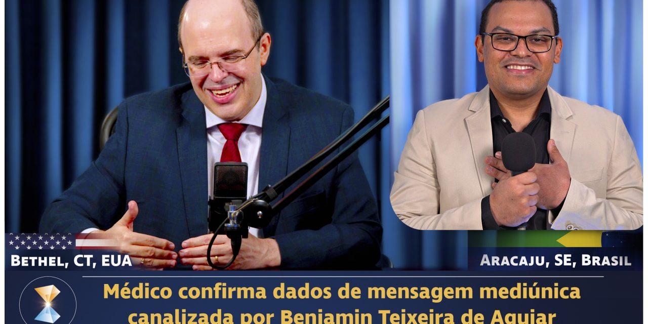 Médico confirma dados de mensagem mediúnica canalizada por Benjamin Teixeira de Aguiar