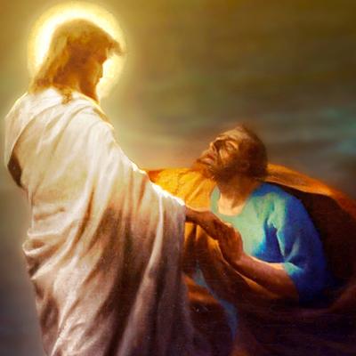 JESUS nos carrega…