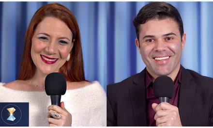 Benjamin Teixeira de Aguiar canaliza a Espiritualidade e apresenta  particularidades do casal Luciana Carmelo e Élder Ferreira