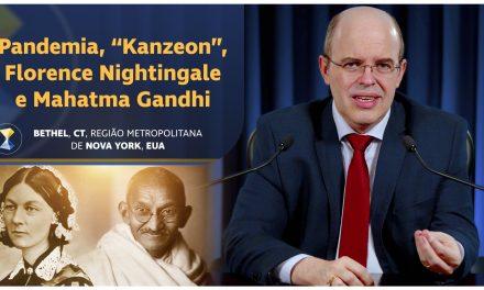 "Pandemia, ""Kanzeon"", Florence Nightingale e Mahatma Gandhi"