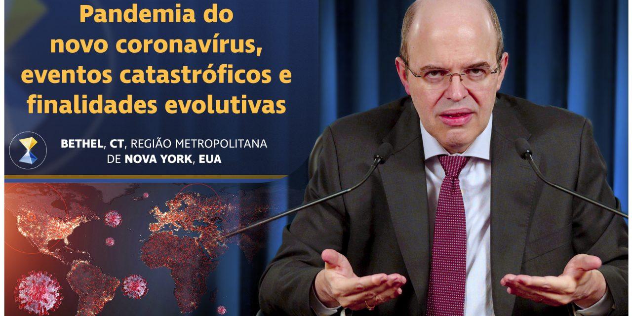 Pandemia do novo coronavírus, eventos catastróficos e finalidades evolutivas
