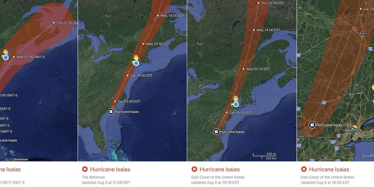 Mais um furacão desviado de Nova York, em incrível interferência da Espiritualidade Maior