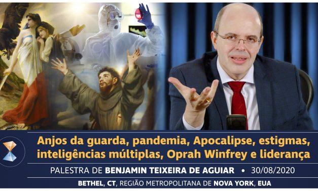 Anjos da guarda, pandemia, Apocalipse, estigmas, inteligências múltiplas, Oprah Winfrey e liderança