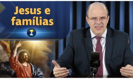 Jesus e famílias