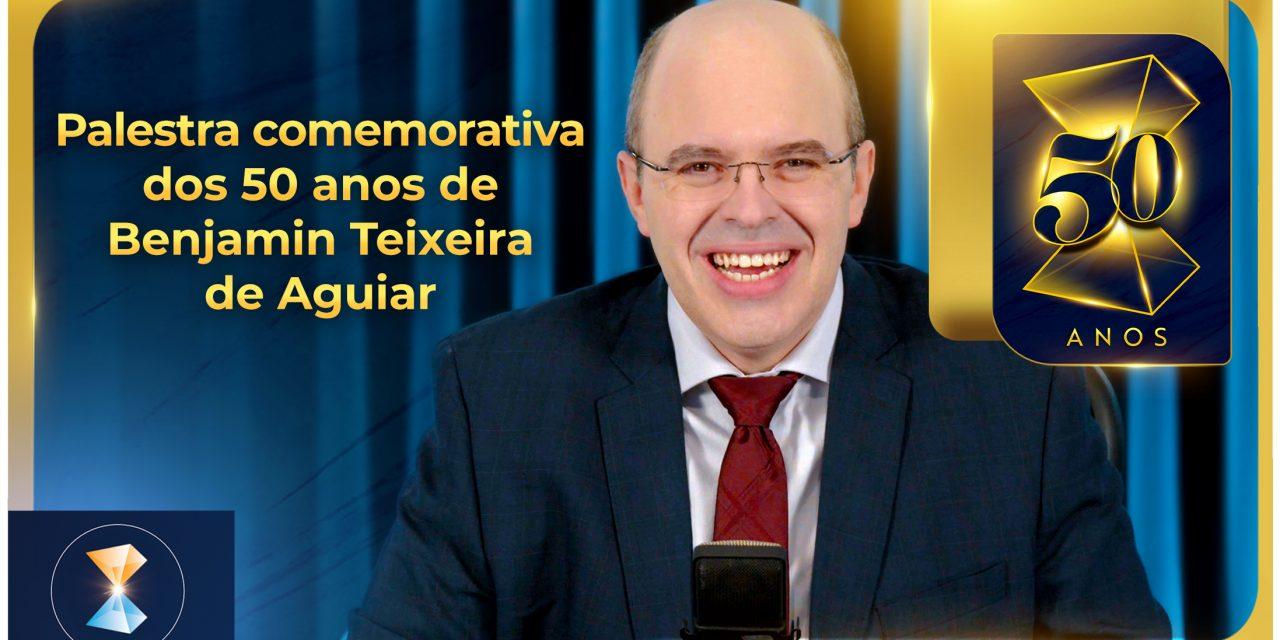 Palestra comemorativa dos 50 anos de Benjamin Teixeira de Aguiar