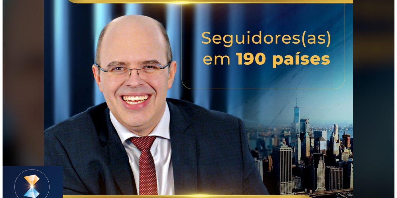 Seguidores(as) em 190 países – de Aracaju para o mundo!