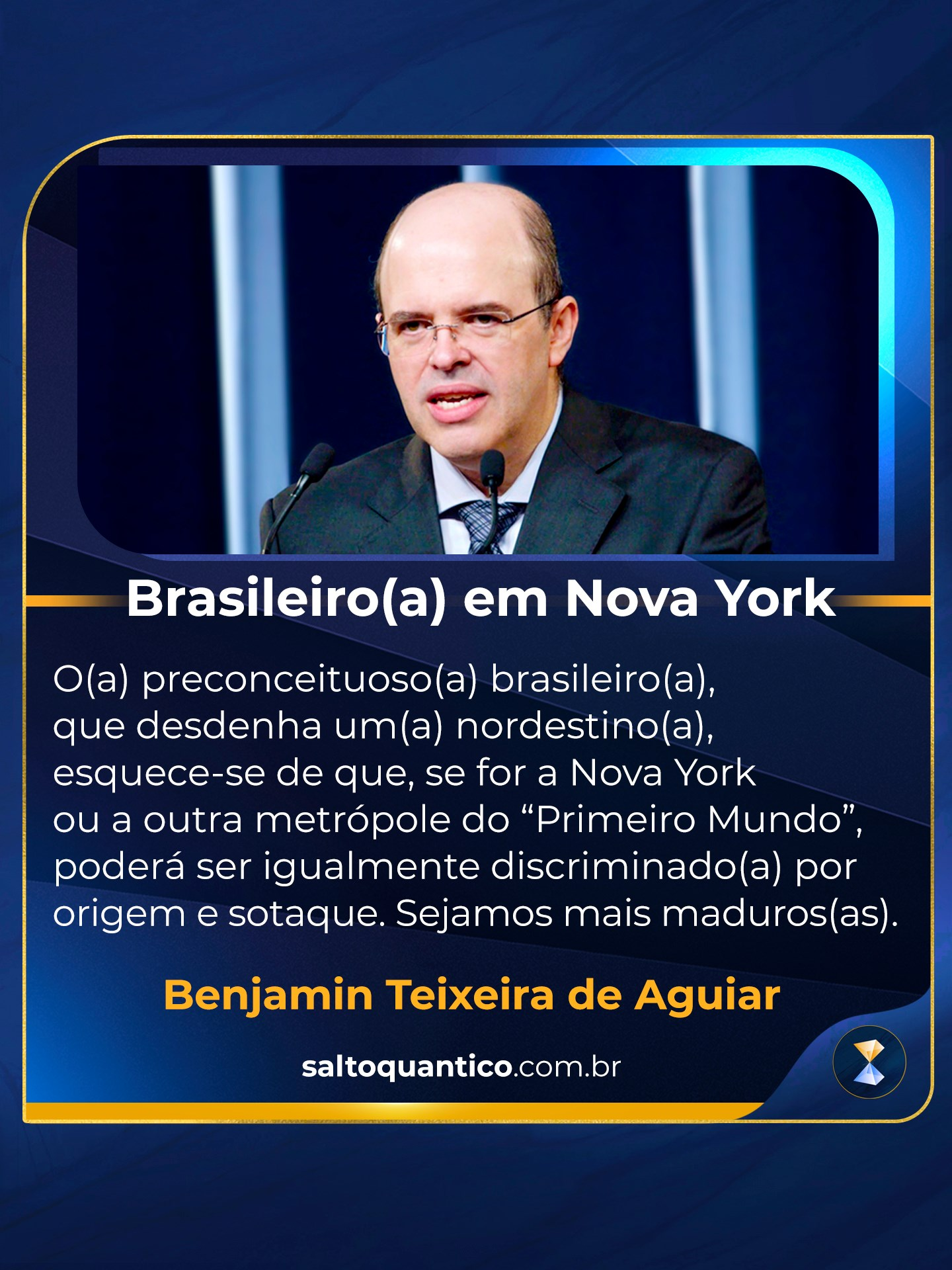 Brasileiro em Nova York