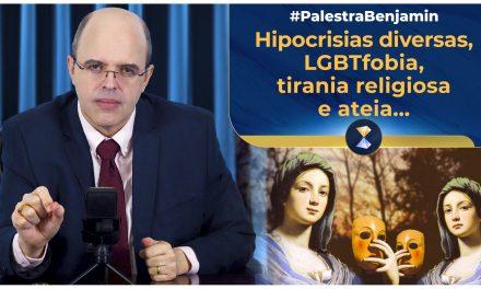 Hipocrisias diversas, LGBTfobia, tirania religiosa e ateia, medo da morte e autoconfiança