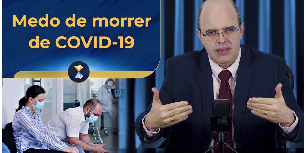 Medo de morrer de COVID-19