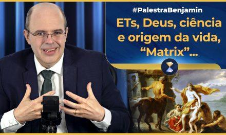 """ETs, Deus, ciência e origem da vida, """"Matrix"""", centauros, sereias, vampiros e lobisomens"""