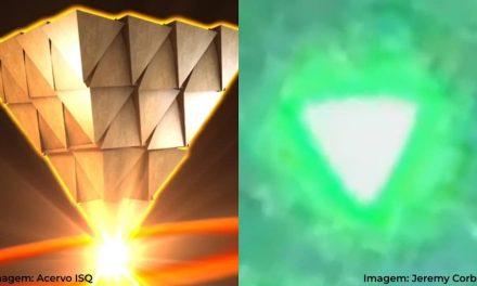 OVNIs em forma piramidal – Extraordinário Sinal do Céu!… Mais Um!…