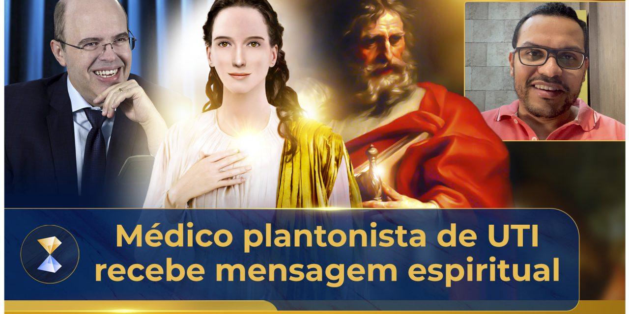 Médico plantonista de UTI recebe mensagem espiritual