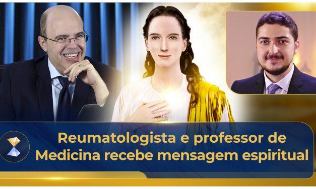 Reumatologista e professor de Medicina recebe mensagem espiritual
