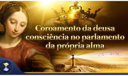 Coroamento da deusa consciência no parlamento da própria alma