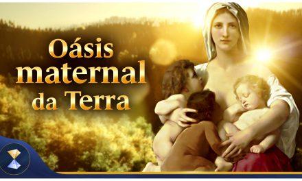 Oásis maternal da Terra