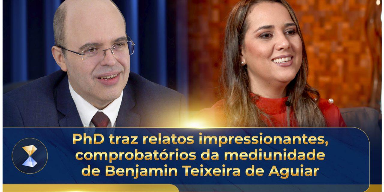 PhD traz relatos impressionantes, comprobatórios da mediunidade de Benjamin Teixeira de Aguiar