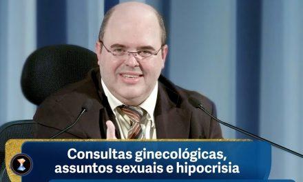 Consultas ginecológicas, assuntos sexuais e hipocrisia