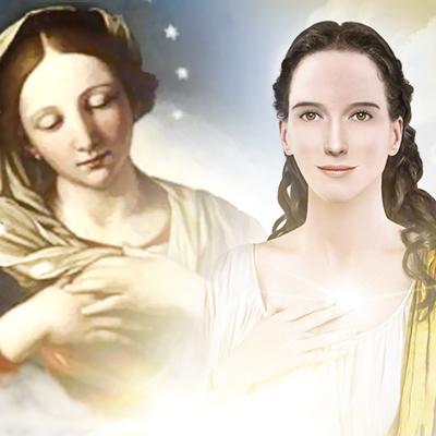 A tristeza de MARIA Sacratíssima (banner)