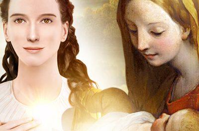 MARIA Santíssima fala sobre o Natal (banners)