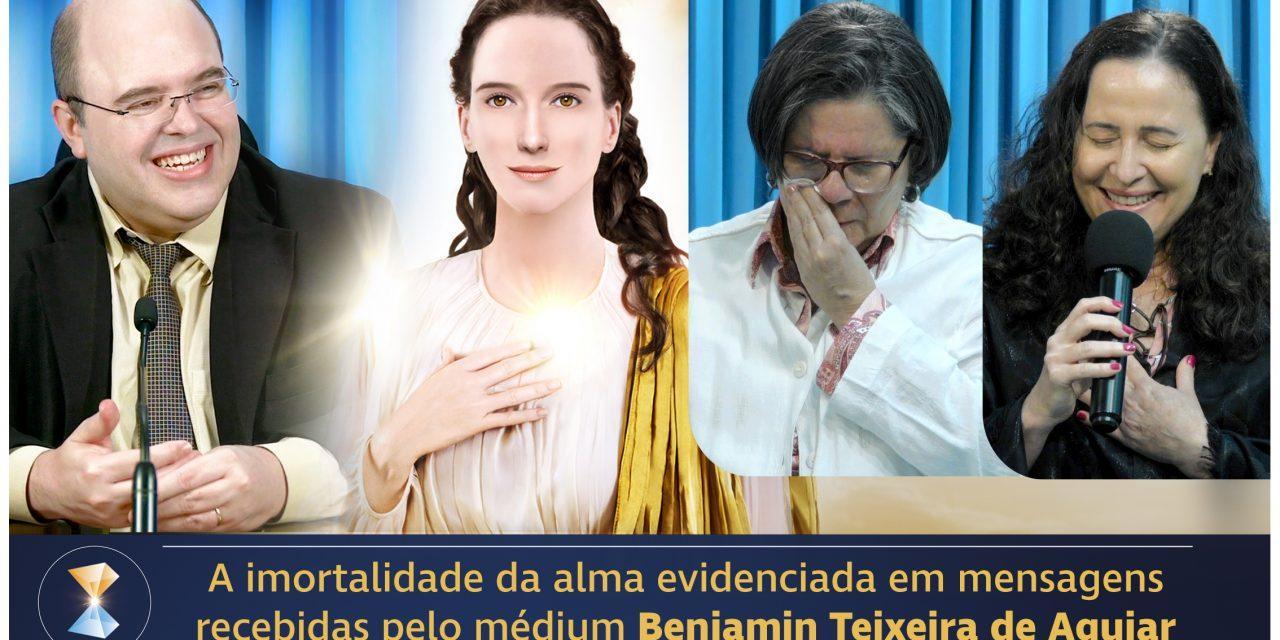 As impressionantes comunicações do médium Benjamin Teixeira de Aguiar com o Mundo Espiritual