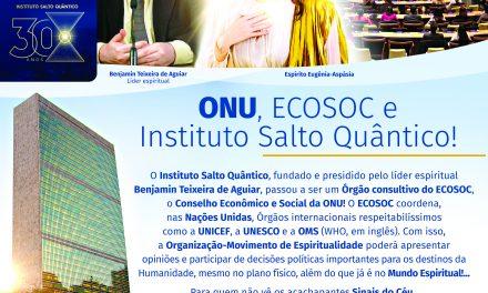 ONU, ECOSOC e Instituto Salto Quântico!